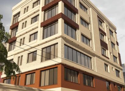 پروژه طراحی مجتمع مسکونی قاضی 5